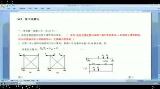 合肥工业大学结构力学冲刺班kc 015